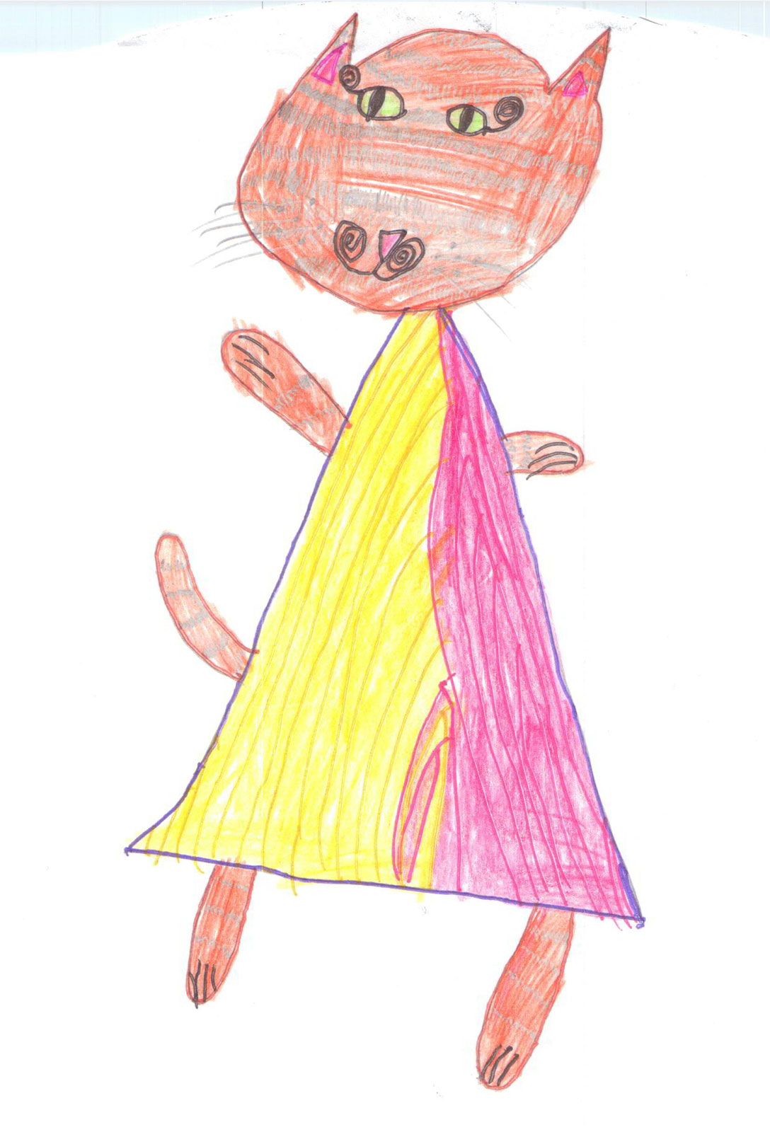 Рисунок царя детский